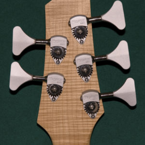Five strings bass - Flamed back veneer